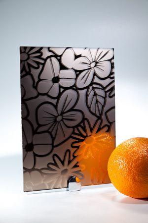 "Зеркало ""Цветы"" бронза Калуга"
