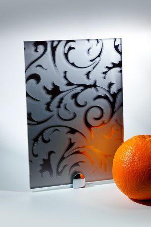 "Зеркало ""Барокко"" матовое графит Калуга"