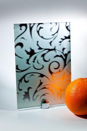 "Зеркало ""Барокко"" матовое серебро Калуга"