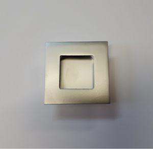 Ручка квадратная Серебро матовое Калуга