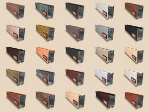 """Алюминиевый ламинированный профиль """"HOLZ"""" для шкафов купе и межкомнатных перегородок Более 100 цветов Калуга"""