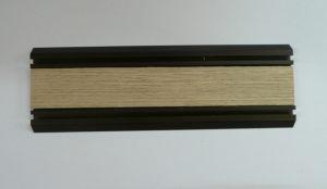 Направляющая нижняя для шкафа-купе вкладка шпон Калуга