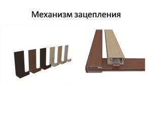 Механизм зацепления для межкомнатных перегородок Калуга