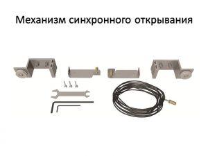 Механизм синхронного открывания для межкомнатной перегородки  Калуга