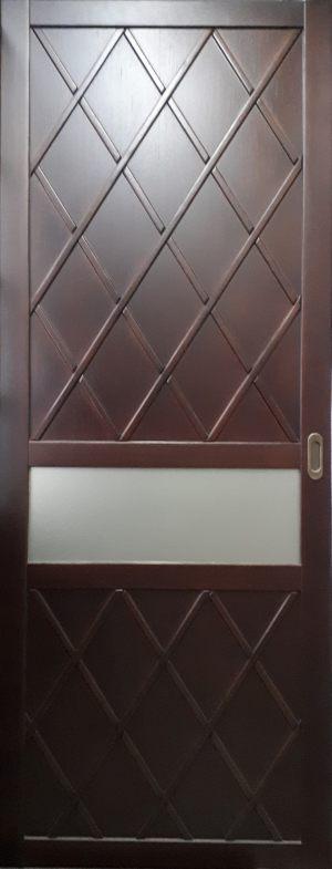 Вставка в дверь с фигурной филенкой Калуга