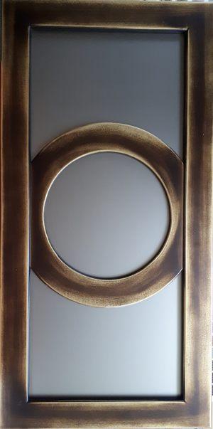 Рамочный фасад с радиусными элементами 4 категории сложности Калуга