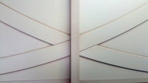 Вставка в дверь с накладками Калуга