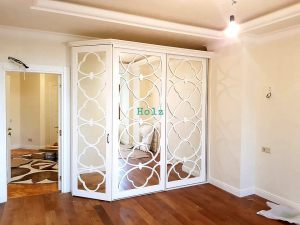 Двери с фигурной филенкой, эмаль Калуга